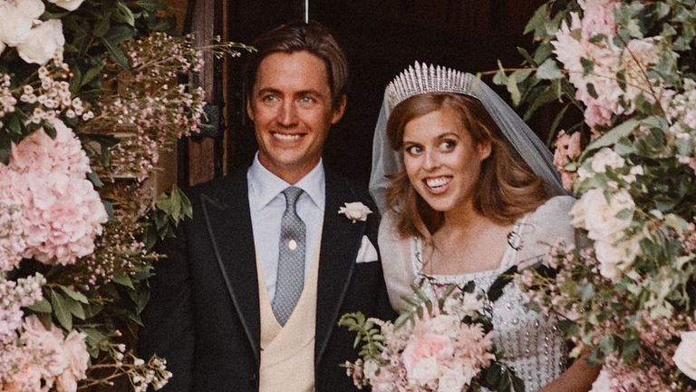 Princess Beatrice Wedding First Photos From Ceremony Show Royal