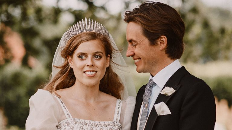 More Photos Released To Mark Princess Beatrice S Wedding Uk News