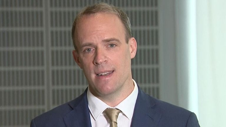 Raab on Anne Sacoolas extradition