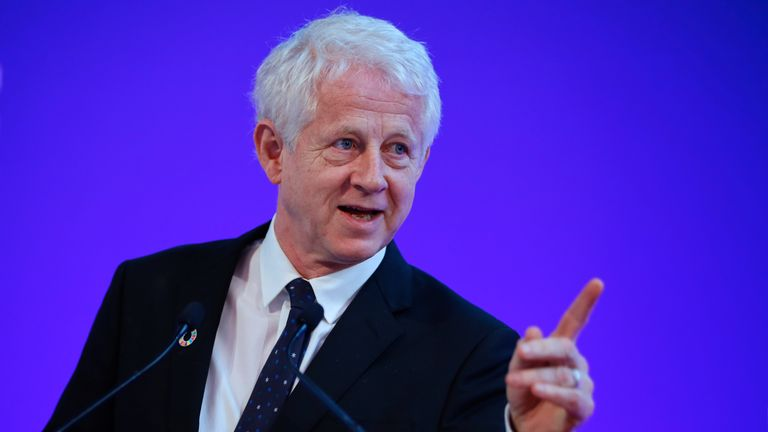 Richard Curtis is among four British millionaires who have signed the open letter