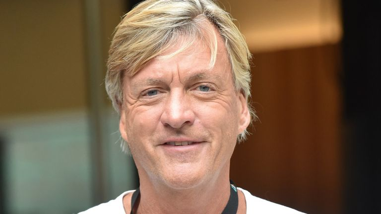 Richard Madeley seen at the ITV Studios on August 12, 2019 in London, England