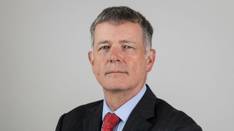 Richard Moore, the new head of MI6