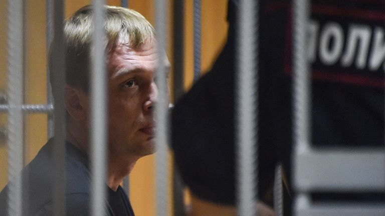 Charges against investigative journalist Ivan Golunov were eventually dropped