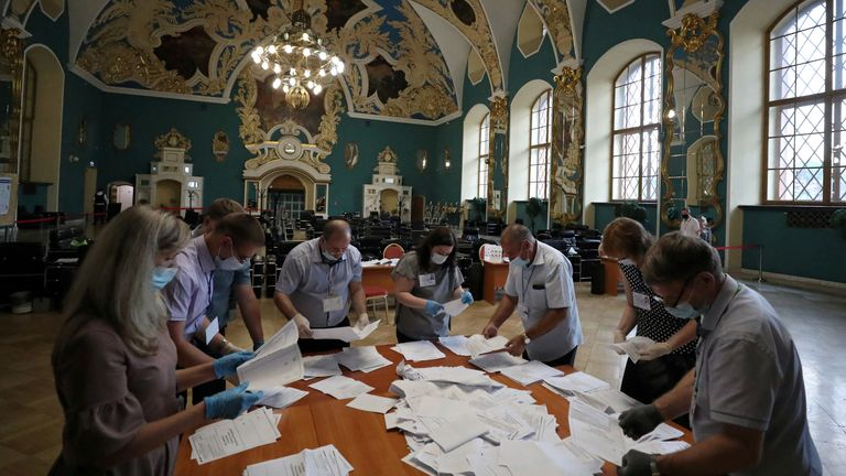 Voters have approved amendments to the constitution