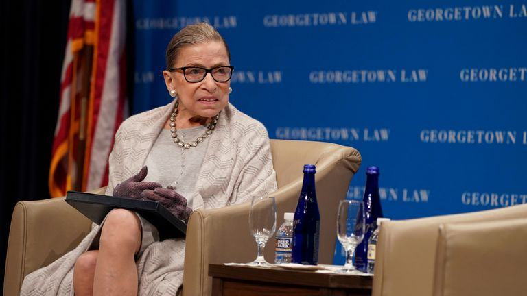 Justice Ruth Bader Ginsburg says she is seeing 'positive results' after having chemotherapy