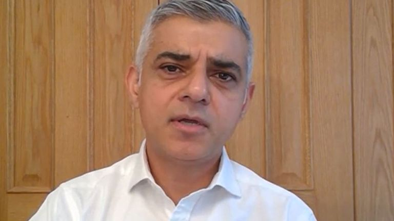 Sadiq Khan says London is 'not ready' for local lockdowns