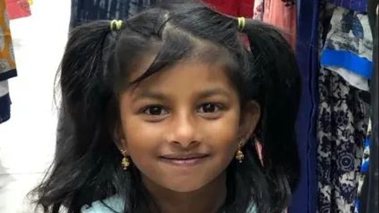 Sayagi Sivanantham, five, died after being stabbed in Mitcham