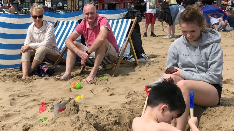 The Boswell family from Whitehead near Manchester were meant to be in Tunisia this week