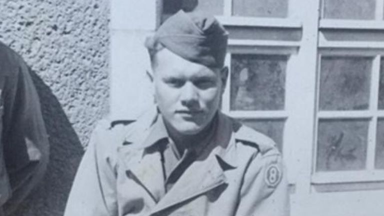 Private Hayman Shulman, US soldier in WWII