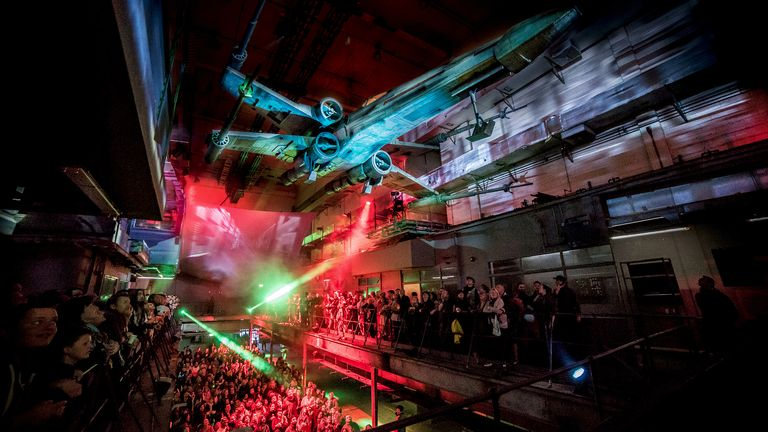 Star Wars gets the Secret Cinema treatment. Pic: Mike Massaro