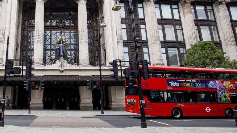 A disturbance took place at Selfridges on Thursday afternoon. File pic