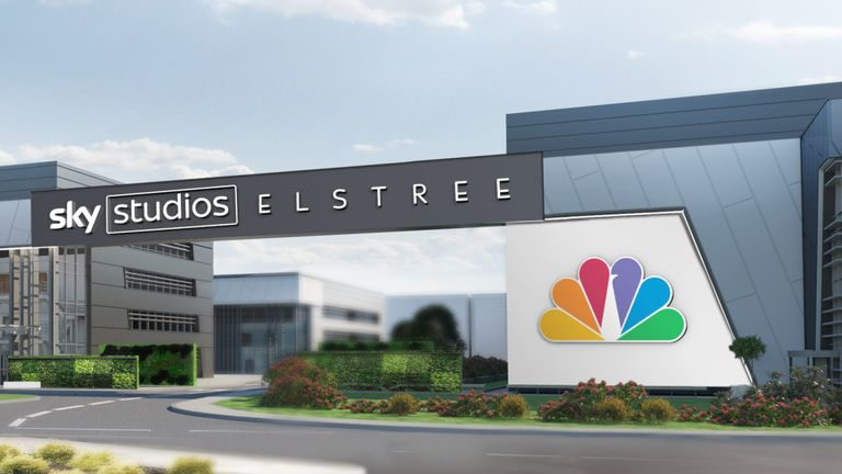 The studio will be built with the backing of Sky's owner, Comcast, and in partnership with sister company NBCUniversal