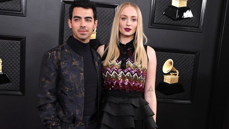 Sophie Turner and Joe Jonas confirmed the birth of their first baby on Monday