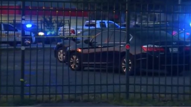 A shooting at the Lavish Lounge nightclub in Greenville County, South Carolina, left two people dead and eight wounded. Pic: NBC12