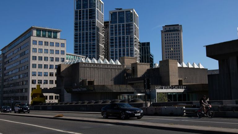 The Hayward Gallery will suffer big losses through social distancing, the centre said