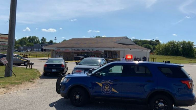 MSP Lansing Troopers and Eaton County Sheriff's Department Deputies respond to Quality Dairy store in Windsor Twp, Eaton County on July 14 at 6:45 AM for a 911 call about a stabbing incident.