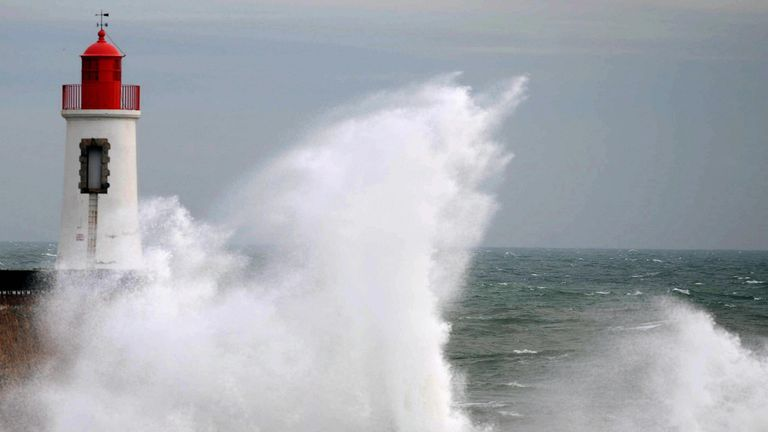 The forecast suggests more Atlantic storms