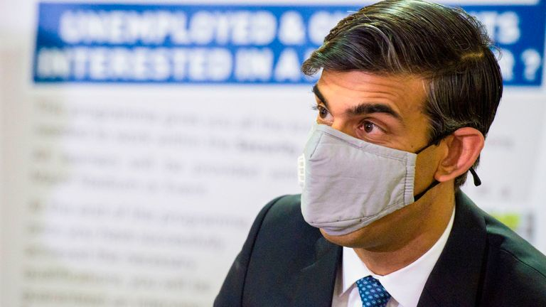 The mask followed him not wearing a mask after serving food to promote his jobs speech