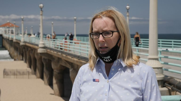 Suzanne Hadley, mayor of the city of Manhattan Beach