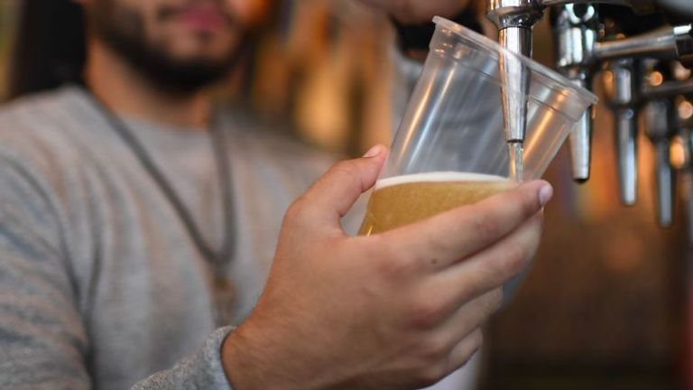 Pubs have been serving takeaway pints for the last few weeks