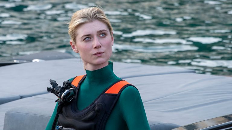 Elizabeth Debicki in Tenet. Pic: Melinda Sue Gordon/Warner Bros. Entertainment