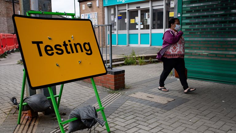 Hundreds of testing sites are set to open around England