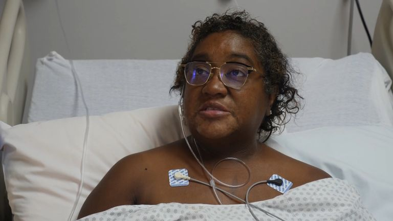 Latanya Robinson is a patient at the Houston Memorial Medical Center