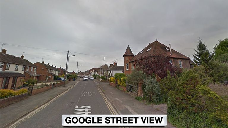 The man was found with injuries in Chinnor Road in Thame