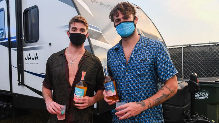 Electonic duo The Chainsmokers
