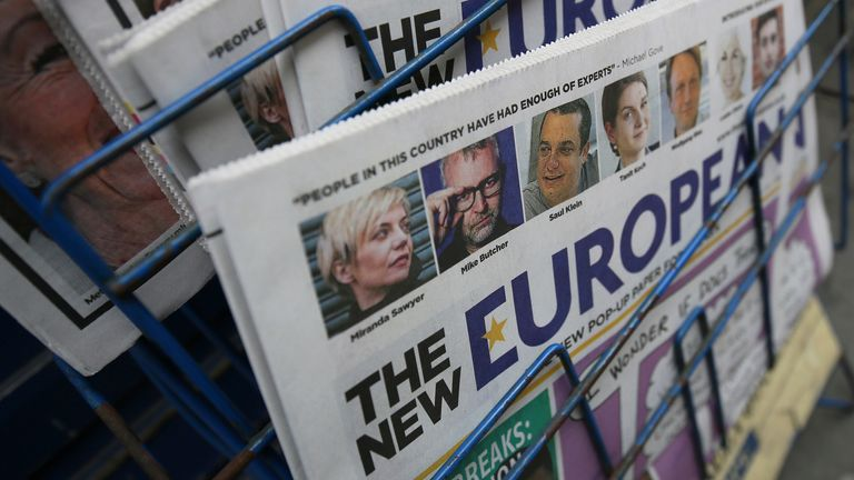 Archant, the regional newspaper group, also owns The New European newspaper