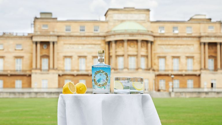 All profits from sales of the gin will go to the Royal Collection Trust charity