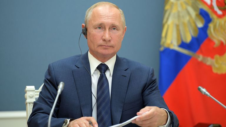 Russian President Vladimir Putin is a former intelligence officer
