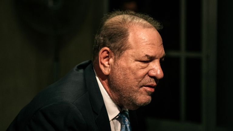 Weinstein was convicted of rape and sexual assault