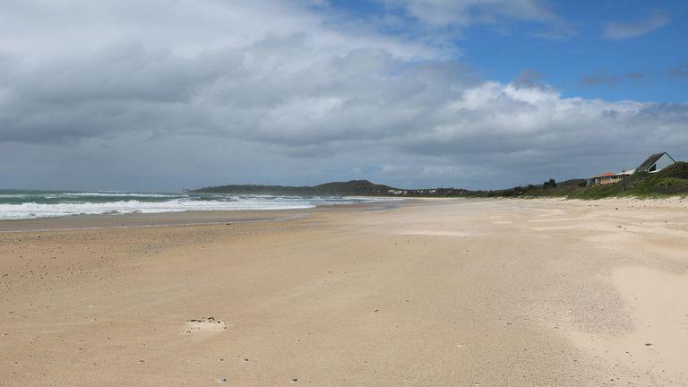 Wooli Beach is a 3km stretch of sand between the Pacific and Wooli Wooli River. Pic: Clara Nila