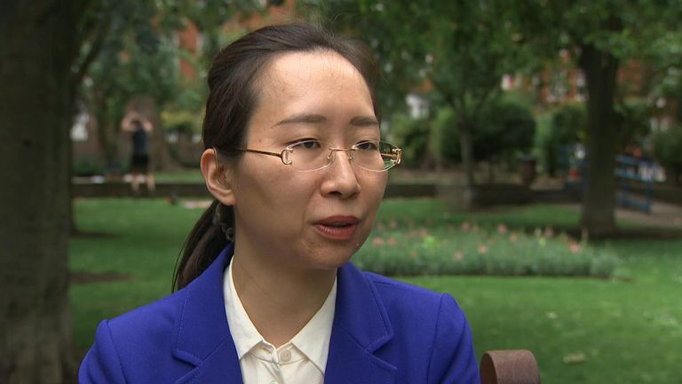 Dr Yu Jie, senior research fellow on China at Chatham House, said the UK needs a clearer message when it comes to China