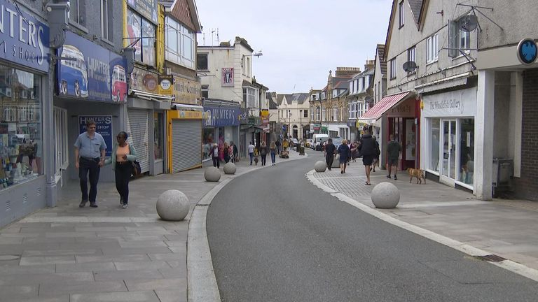 The number of unemployed in Newquay has doubled during lockdown
