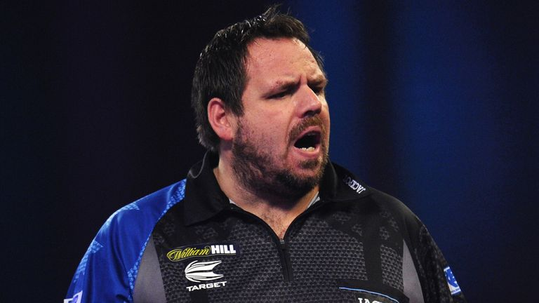 Adrian Lewis lost to Glen Durrant in the first round of last year's World Matchplay