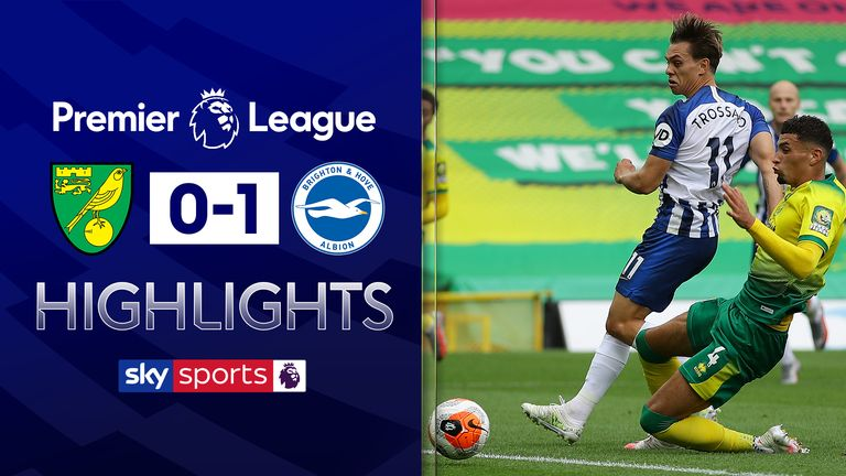 FREE TO WATCH: Highlights from Brighton's win over Norwich