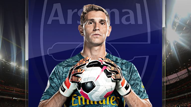 Emiliano Martinez joined Arsenal aged 16 in 2010