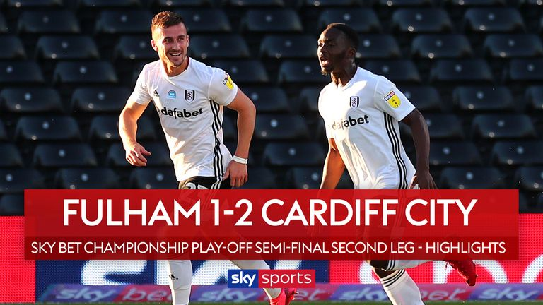 Highlights of the Sky Bet Championship play-off semi-final between Fulham and Cardiff.