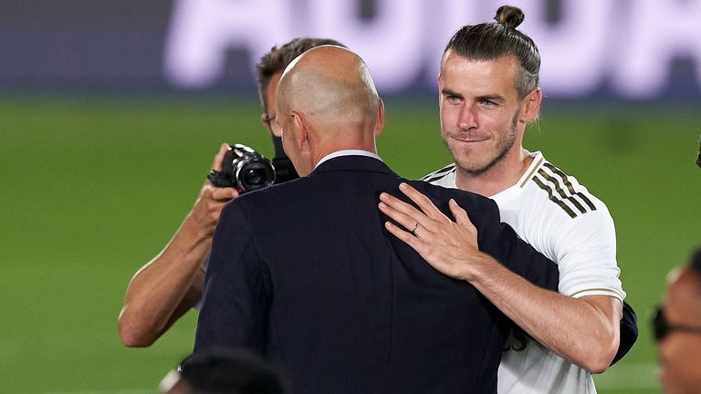 Zinedine Zidane clearly wants Bale out of Real Madrid but there is an impasse