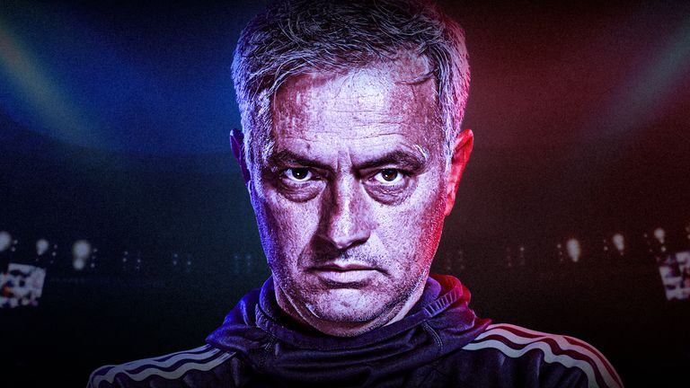 Jose Mourinho for feature