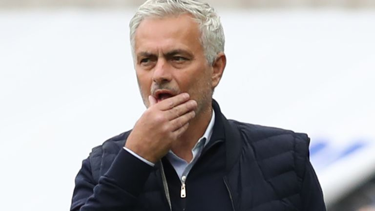Mourinho is delighted to be back managing a 'big club' in the Premier League but admits his first season at Tottenham has had it's 'ups and downs'