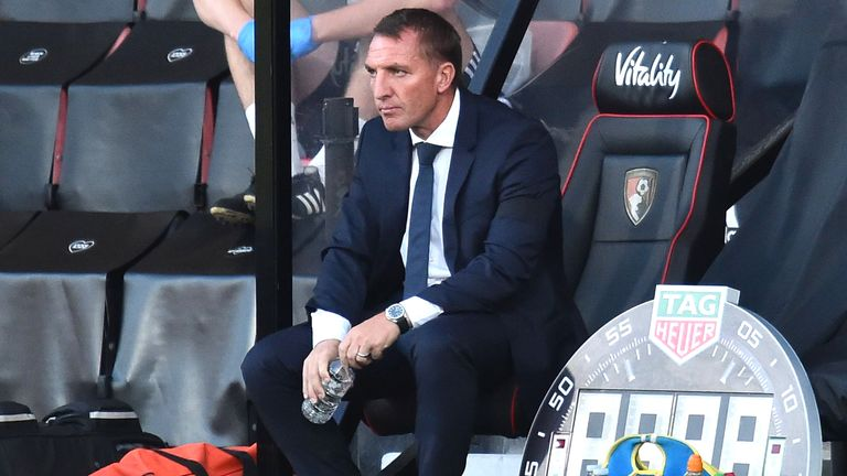 Brendan Rodgers admited he was 'shocked' at his side's 4-1 defeat