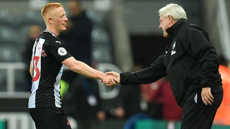 Newcastle manager Steve Bruce says he will be speaking with Matty Longstaff in an attempt to keep him at the club amid interest from Italian side Udinese