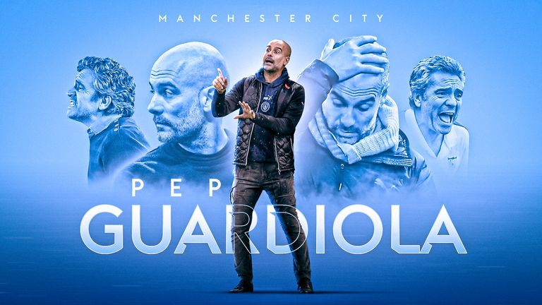 Manchester City head coach Pep Guardiola has been reunited with his mentor Juanma Lillo