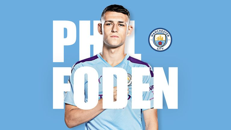Manchester City youngster Phil Foden