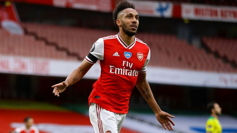 Arteta is confident that Pierre-Emerick Aubameyang will commit to the club