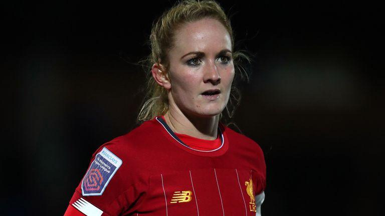 Liverpool Women captain Sophie Bradley-Auckland