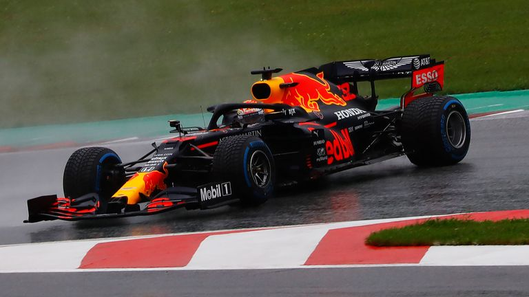 Max Verstappen spins out on the final corner during Q3 to end his hopes of taking pole position at the Styrian Grand Prix.